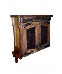 Шкаф настенный под старину
